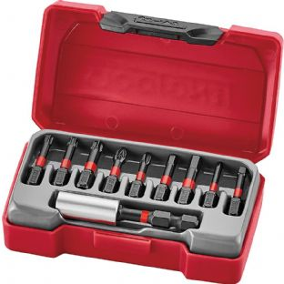Teng TM010 10 Piece Impact Bits Set